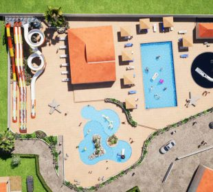 campsite Vendee with swimming pool and slide