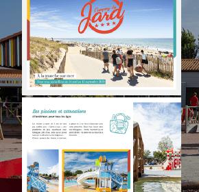 Brochure camping du Jard