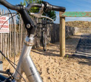 camping vendée la tranche sur mer campig du jard location vélo