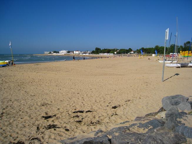 plage centrale camping Vendée bord de mer